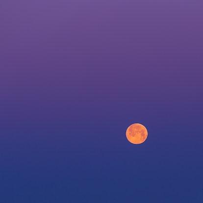 A total lunar eclipse (aka blood moon).