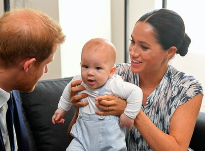 CAPE TOWN, SOUTH AFRICA - SEPTEMBER 25: Prince Harry, Duke of Sussex and Meghan, Duchess of Sussex t...