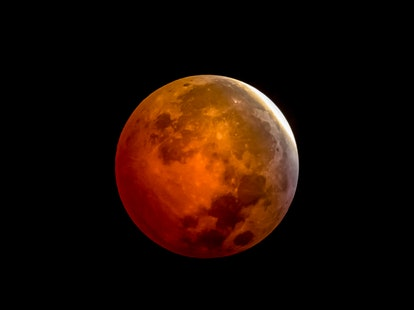The May 2021 total lunar eclipse blood moon.