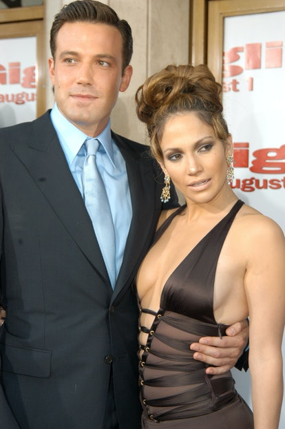 Ben Affleck and Jennifer Lopez dated.