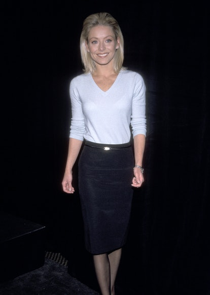 Kelly Ripa during Announcement of the 26th Annual Daytime Emmy Awards in 1997.
