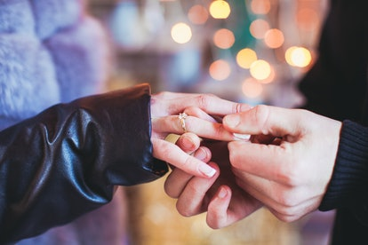 Dreams about getting engaged or being proposed to often symbolize commitment.