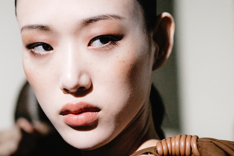 MILAN, ITALY - SEPTEMBER 20:  Model Sora Choi is seen backstage ahead of the Max Mara show during Milan Fashion Week Spring/Summer 2019 on September 20, 2018 in Milan, Italy.  (Photo by Rosdiana Ciaravolo/Getty Images)