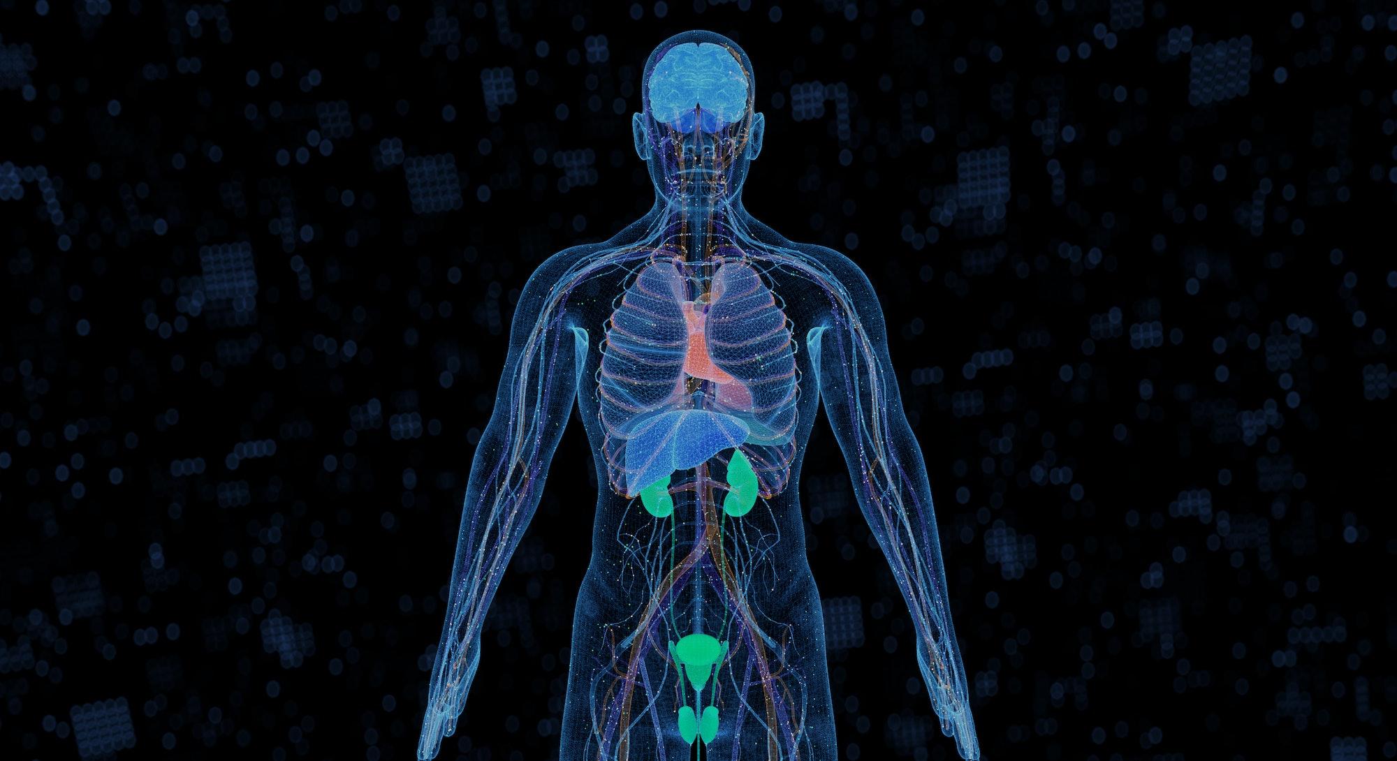 計算機生成的醫學概念