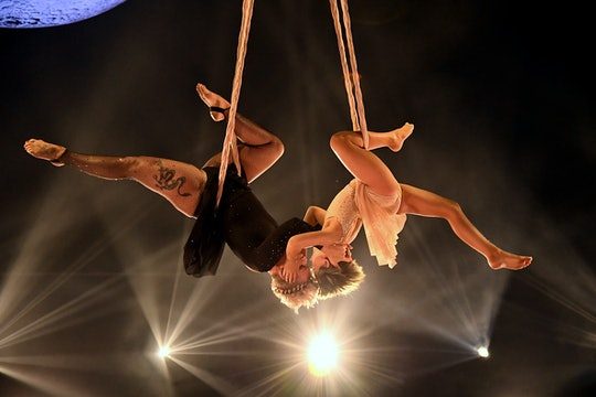 LOS ANGELES, CALIFORNIA - MAY 23: In this image released on May 23, Willow Sage Hart and P!nk perfor...