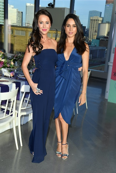 TORONTO, ON - MAY 31:  Jessica Mulroney and actress Meghan Markle attends the Instagram Dinner held ...