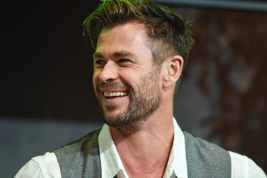 Actor Chris Hemsworth at the Sydney Opera House for the launch of the latest Tourism Australia campa...