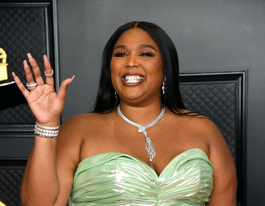 Lizzo attends the 63rd Annual GRAMMY Awards at Los Angeles Convention Center on March 14, 2021.