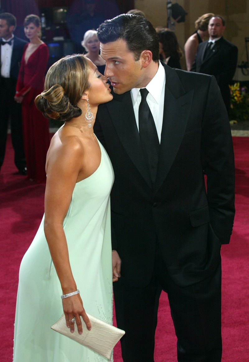 Jennifer Lopez and Ben Affleck in 2003. (Photo by Dan MacMedan/WireImage)