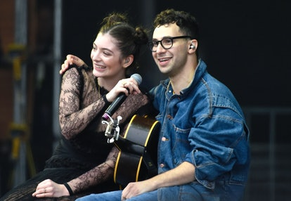 Lorde (L) and Jack Antonoff perform during the 2017 Outside Lands Music and Arts Festival at Golden Gate Park on August 13, 2017 in San Francisco, California.  (Photo by Tim Mosenfelder/Getty Images)