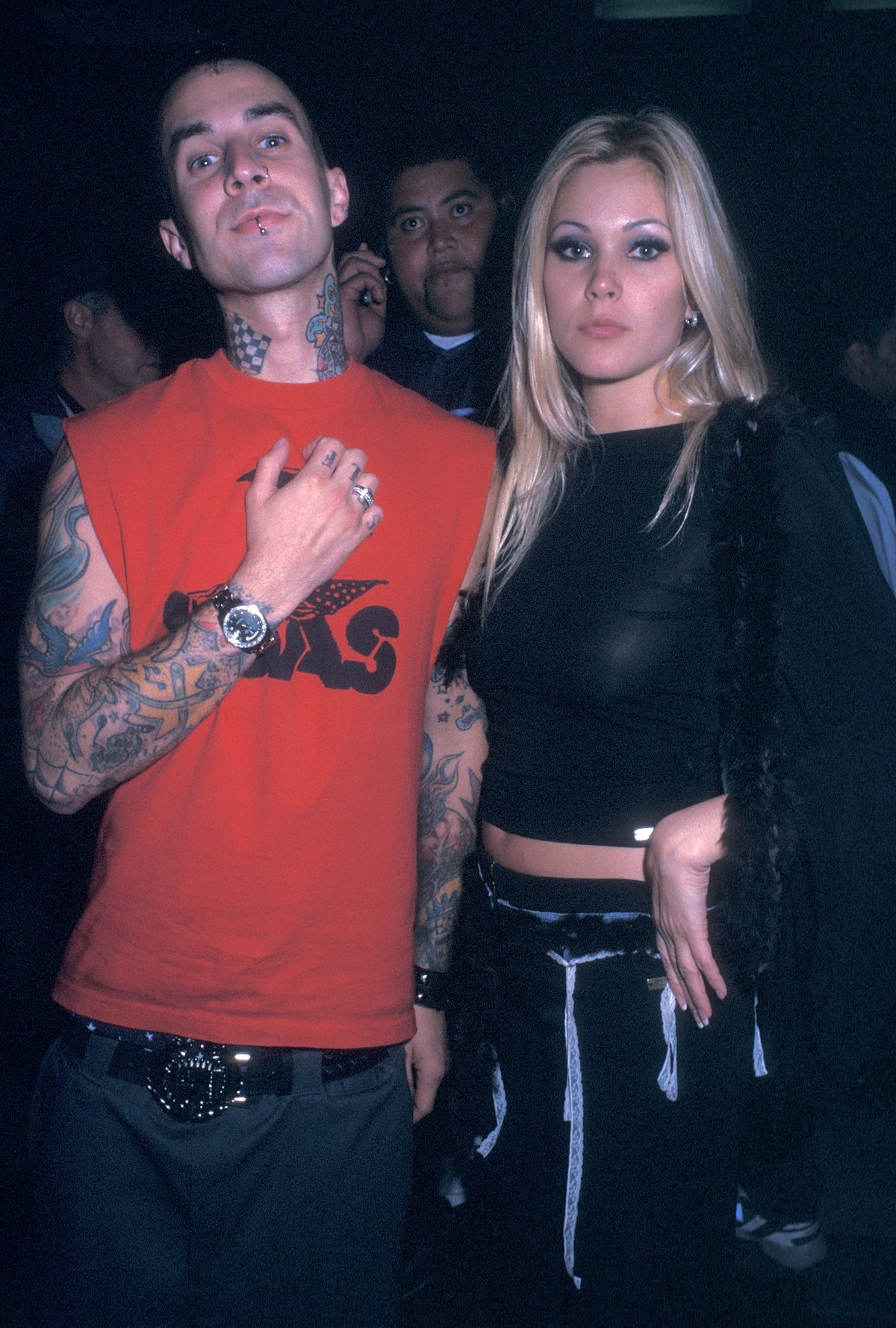Travis Barker and Shanna Moakler used to look so happy together.