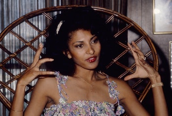 LOS ANGELES - MAY 20:  Actress Pam Grier poses for a photo on May 20, 1977 in Los Angeles, California. (Photo by Michael Ochs Archive/Getty Images)