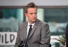 """NEW YORK, NY - MARCH 30:  Matthew Perry attends Build Series to discuss """"The Kennedys - After Camelo..."""