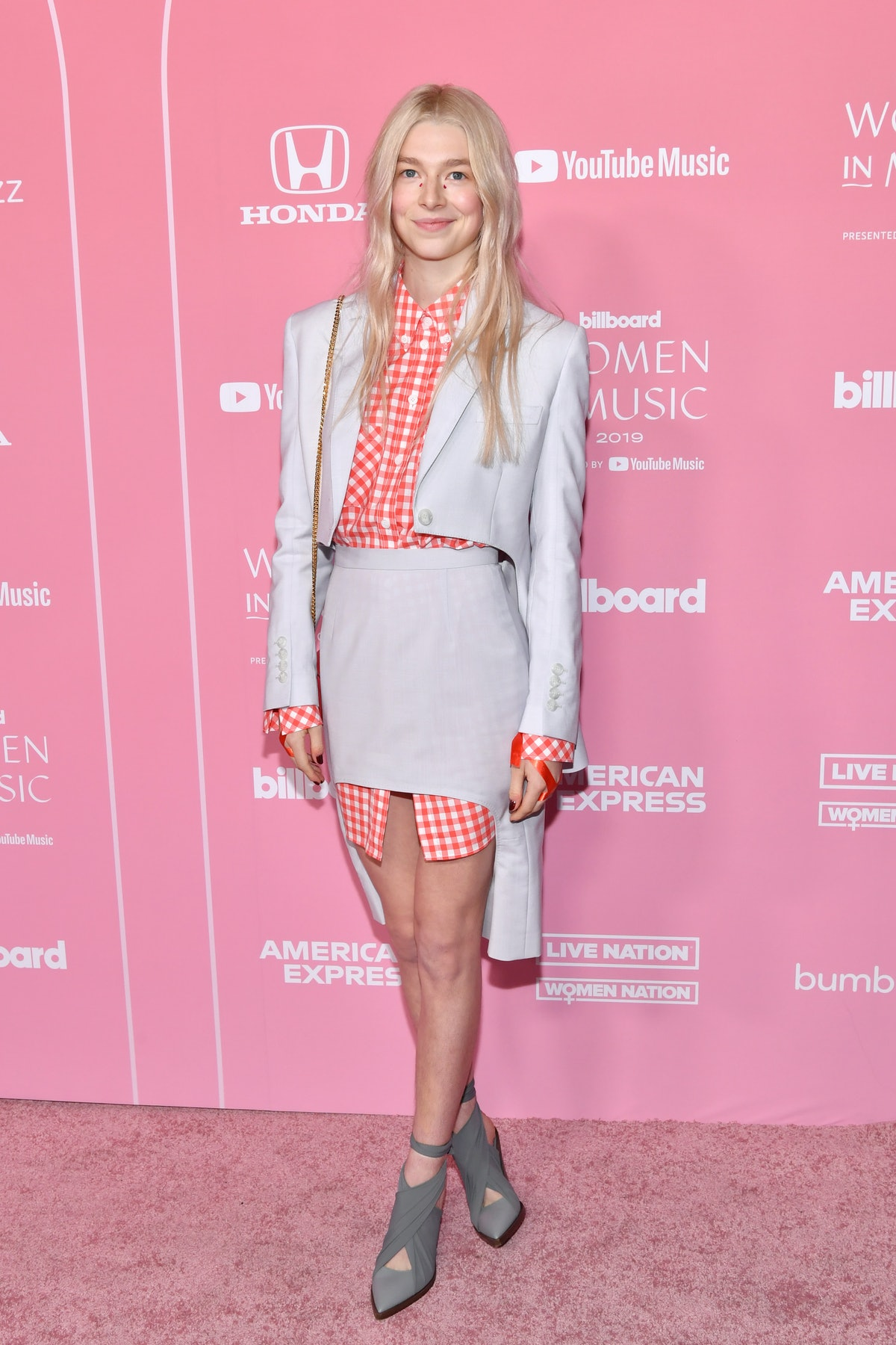 LOS ANGELES, CALIFORNIA - DECEMBER 12: Hunter Schafer attends Billboard Women In Music 2019, presented by YouTube Music, on December 12, 2019 in Los Angeles, California. (Photo by Emma McIntyre/Getty Images for Billboard)