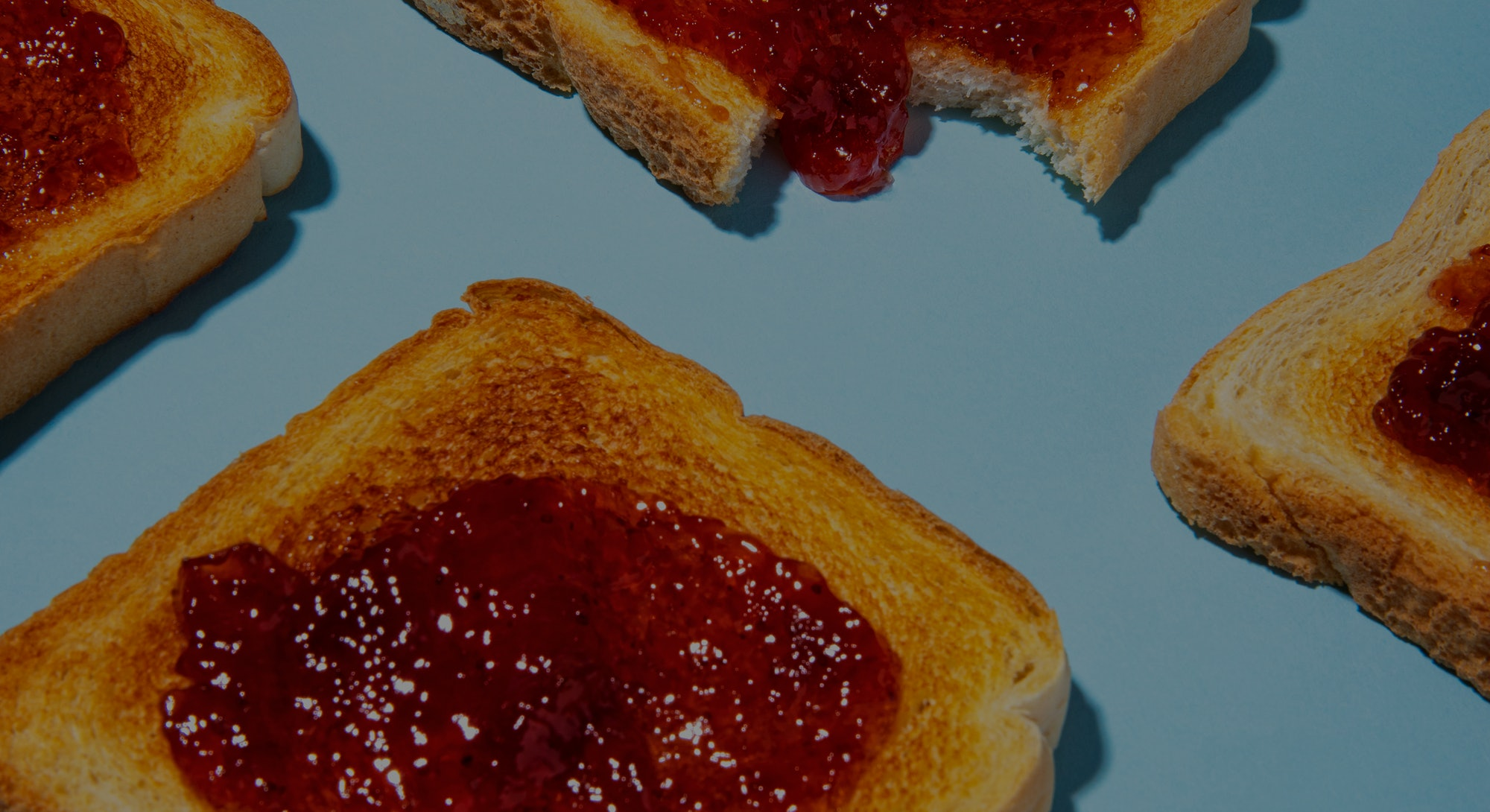 Jam on Toast Pop Art Photo