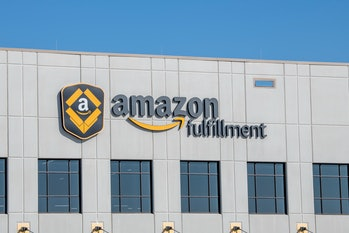 Amazon fulfillment center, the second largest private employer in the United States and one of the world's most valuable companies, Shakopee, Minnesota. (Photo by: Michael Siluk/Education Images/Universal Images Group via Getty Images)