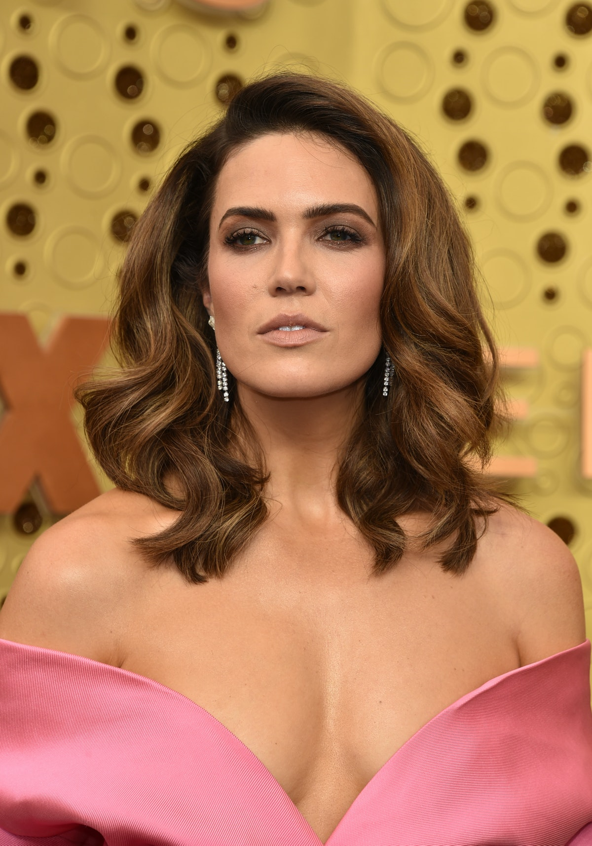 LOS ANGELES, CALIFORNIA - SEPTEMBER 22:  Mandy Moore attends the 71st Emmy Awards at Microsoft Theat...