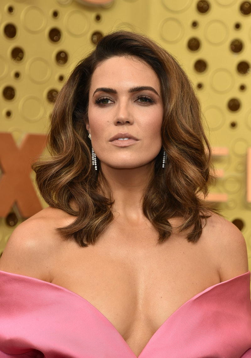 LOS ANGELES, CALIFORNIA - SEPTEMBER 22:  Mandy Moore attends the 71st Emmy Awards at Microsoft Theater on September 22, 2019 in Los Angeles, California. (Photo by John Shearer/Getty Images)