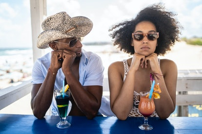 If you're not ready for anything serious, you may be getting bored in relationships easily.