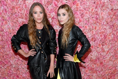 Celebrity Gemini twins Mary Kate Olsen and Ashley Olsen attend The 2019 Met Gala.