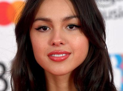 LONDON, ENGLAND - MAY 11: Olivia Rodrigo attends The BRIT Awards 2021 at The O2 Arena on May 11, 202...