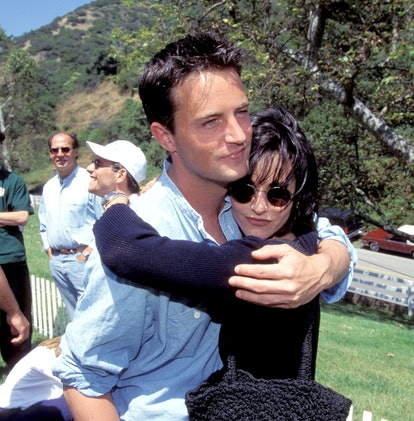 Matthew Perry and Courteney Cox (Photo by Kevin Mazur/WireImage)