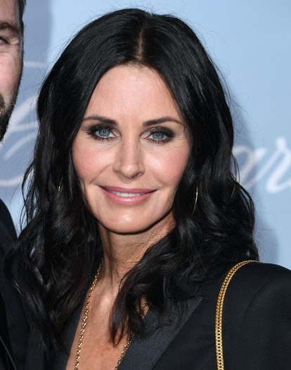 Infamous Gemini celebrity Courteney Cox arrives at the Hollywood For Science Gala.