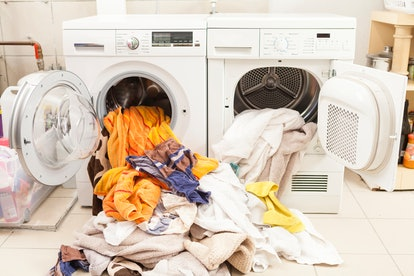 Throwing items in the dryer can kill lice eggs.