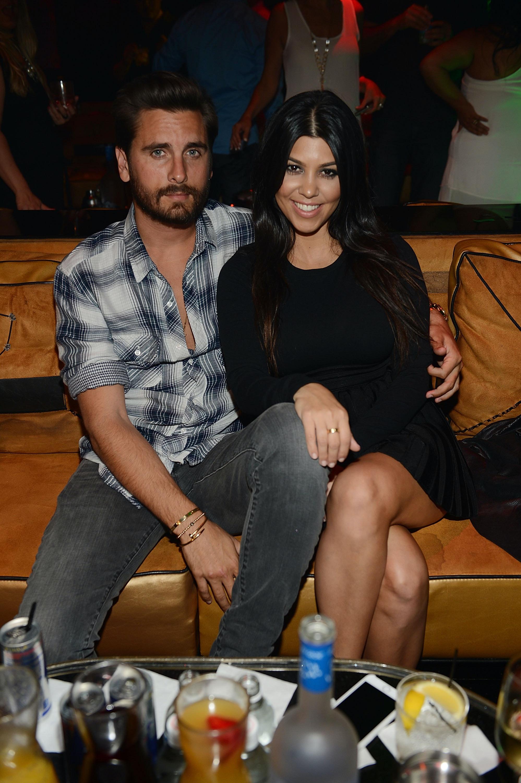 Kourtney Kardashian Went To Scott Disick's 38th Birthday Party