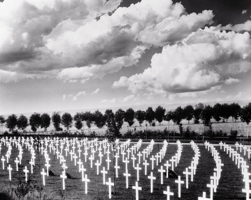 A cemetery filled with cross grave markers. How does it feel to die? Real accounts shed light on wha...