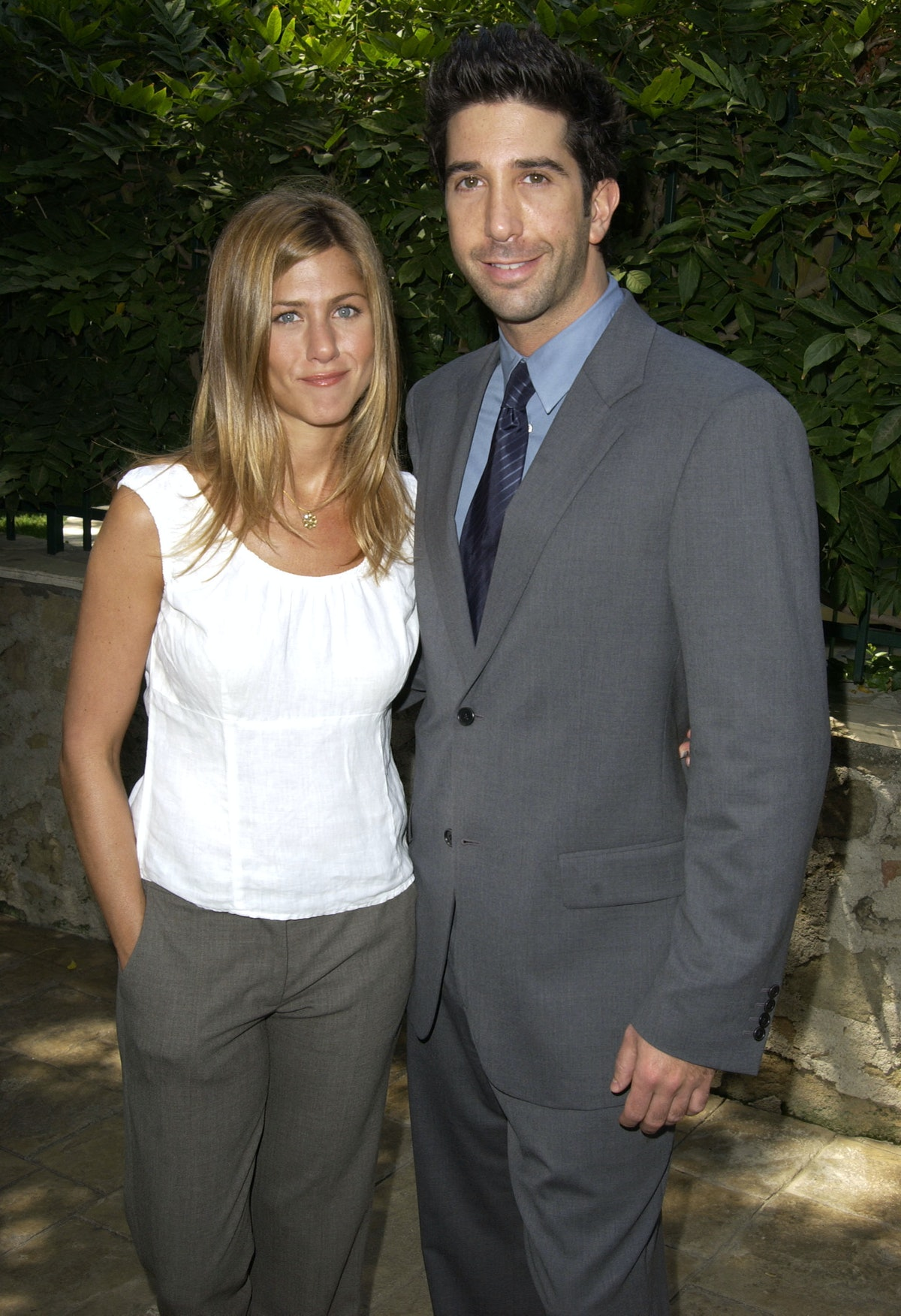 Jennifer Aniston and David Schwimmer admitted to having crushes on each other during Friends.