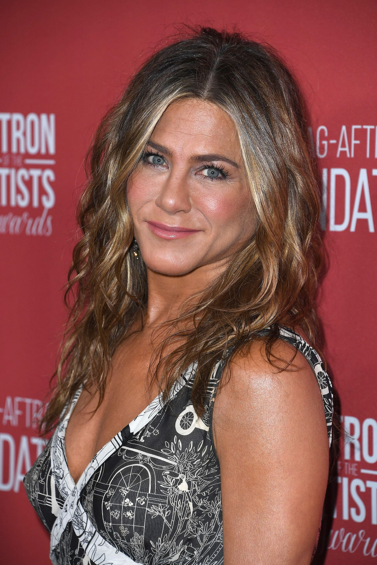 BEVERLY HILLS, CALIFORNIA - NOVEMBER 07: Jennifer Aniston  attends SAG-AFTRA Foundation's 4th Annual...