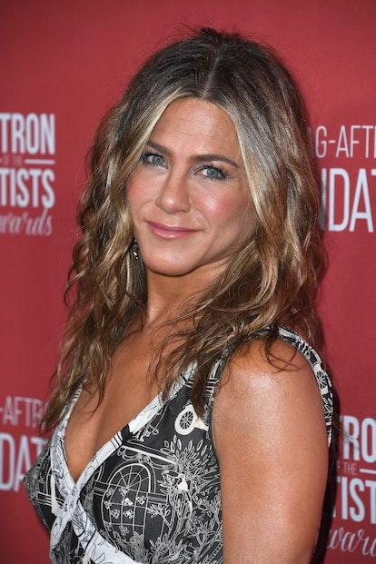 BEVERLY HILLS, CALIFORNIA - NOVEMBER 07: Jennifer Aniston  attends SAG-AFTRA Foundation's 4th Annual Patron of the Artists Awards at Wallis Annenberg Center for the Performing Arts on November 07, 2019 in Beverly Hills, California. (Photo by Steve Granitz/WireImage,)