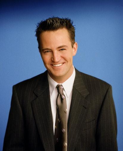 "Matthew Perry stars as Chandler Bing in ""Friends."""