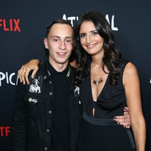 LOS ANGELES, CA - AUGUST 07:  Keir Gilchrist and showrunner  Robia Rashid attend the Netflix original series 'Atypical' special screening on August 7, 2017 in Los Angeles, California.  (Photo by Jonathan Leibson/Getty Images for Netflix)
