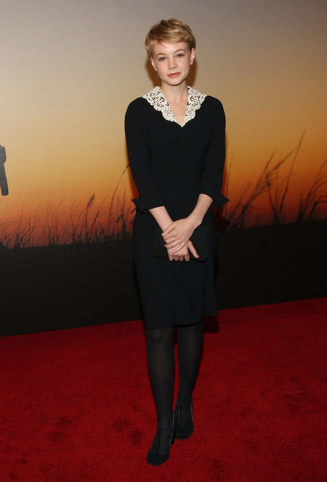 NEW YORK - NOVEMBER 10:  Actress Carey Mulligan attends the MoMa Film Benefit Gala Honoring Baz Luhrmann at the Museum of Modern Art on November 10, 2008 in New York City.  (Photo by Jason Kempin/WireImage)