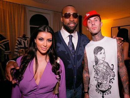 Kim Kardashian and Travis Barker reportedly met through Paris Hilton.