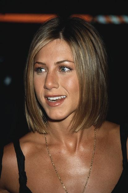 Jennifer Aniston hair evolution 2001 bob