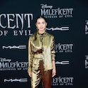 """LOS ANGELES, CALIFORNIA - SEPTEMBER 30: Olivia Rodrigo attends the World Premiere Of Disney's """"Maleficent: Mistress Of Evil"""" - Red Carpet at El Capitan Theatre on September 30, 2019 in Los Angeles, California. (Photo by Frazer Harrison/Getty Images)"""