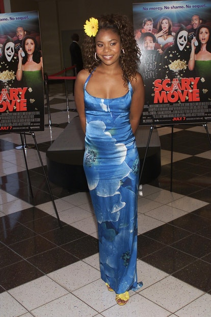 Actress Regina Hall attends the premiere of 'Scary Movie' on June 21, 2000.