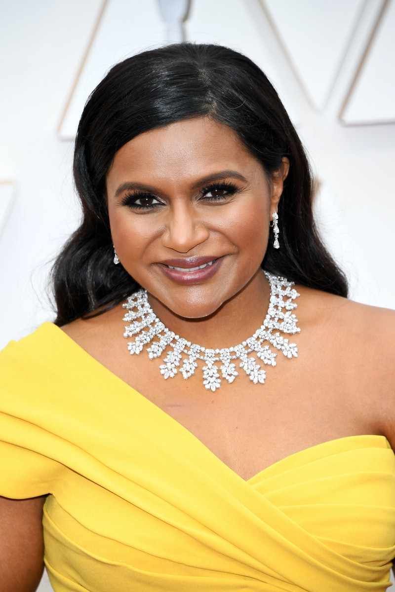 HOLLYWOOD, CALIFORNIA - FEBRUARY 09: Mindy Kaling attends the 92nd Annual Academy Awards at Hollywood and Highland on February 09, 2020 in Hollywood, California. (Photo by Kevin Mazur/Getty Images)