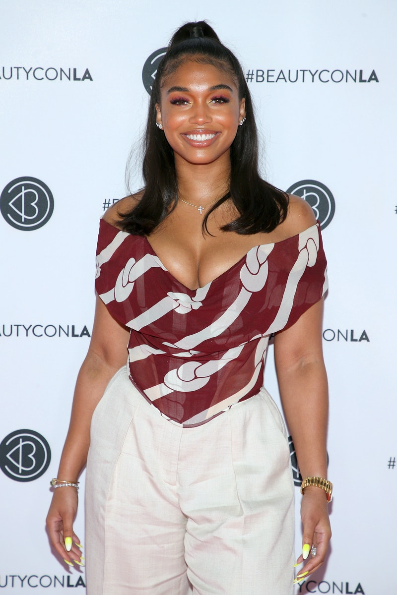 LOS ANGELES, CALIFORNIA - AUGUST 11: Lori Harvey attends Beautycon Los Angeles 2019 Pink Carpet at Los Angeles Convention Center on August 11, 2019 in Los Angeles, California. (Photo by Phillip Faraone/WireImage,)