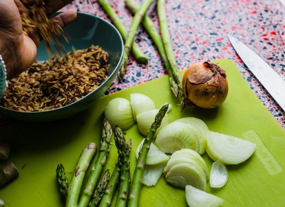 Asparagus is one of the foods that throw off your ph balance in your vagina.