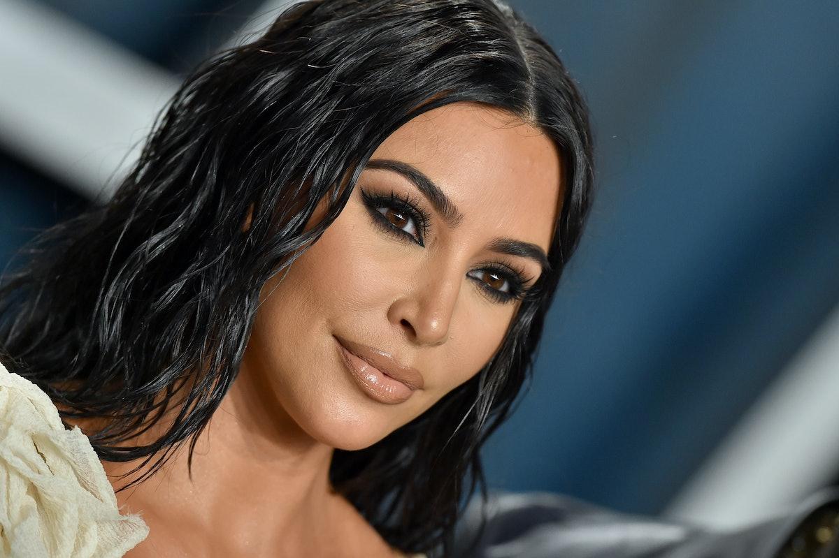 Kim Kardashian's tweet about getting COVID is a total shutdown.