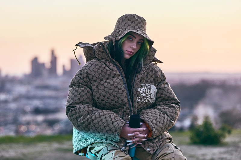 """LOS ANGELES, CALIFORNIA - FEBRUARY 25: Billie Eilish at Apple's """"Billie Eilish: The World's A Little Blurry"""" Live Premiere Event. """"Billie Eilish: The World's A Little Blurry"""" film is now streaming on Apple TV+. (Photo by Koury Angelo/Getty Images for Apple)"""