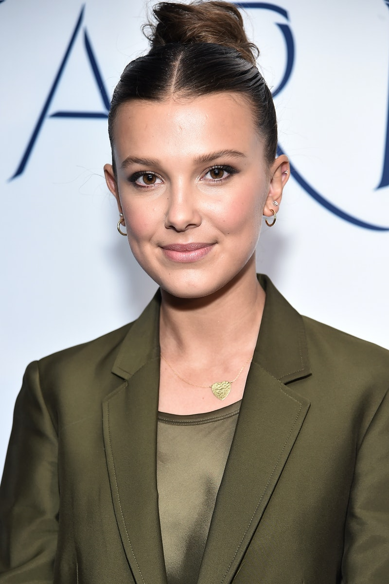 Millie Bobby Brown's hairstyle totally channels the '90s.