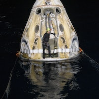 Watch the SpaceX-NASA Crew-1 astronauts' incredible journey back to Earth