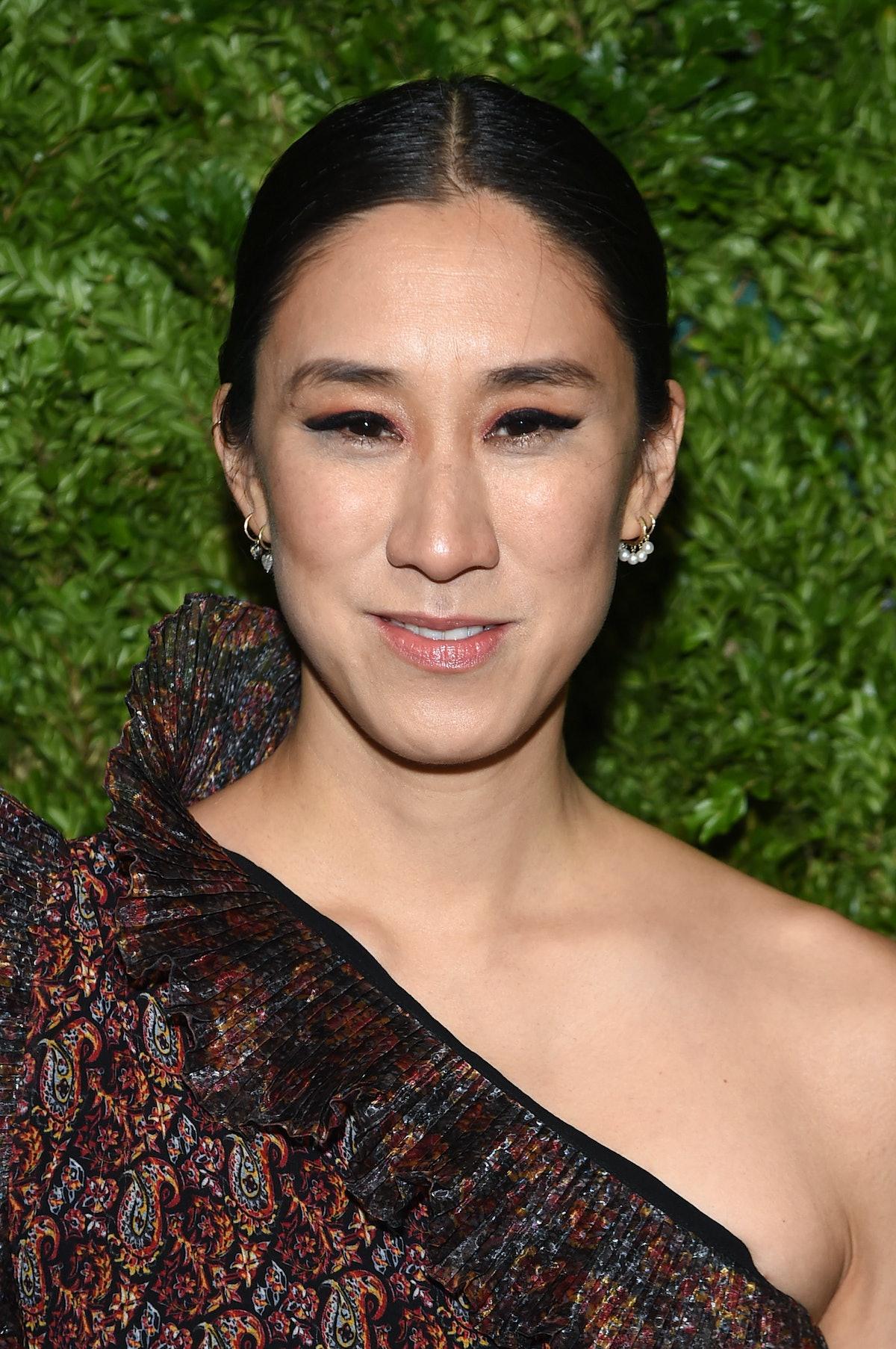 NEW YORK, NEW YORK - NOVEMBER 04: Eva Chen attends the CFDA / Vogue Fashion Fund 2019 Awards at Cipr...