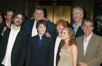 Alfonso Cuarón (z lewej) z zespołem