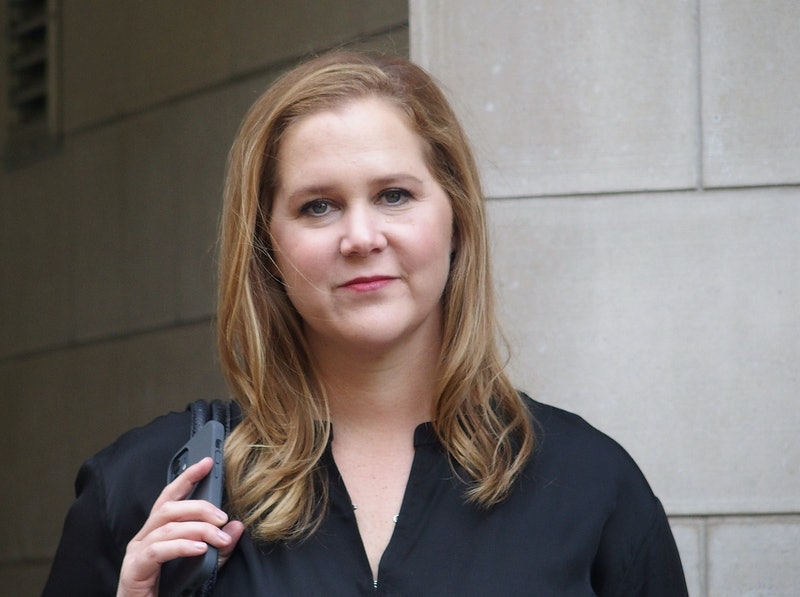 NEW YORK, NY - APRIL 27:  Amy Schumer is seen on the set of 'Life & Beth' the Hulu comedy series written and directed by Amy Schumer on April 27, 2021 in New York City.  (Photo by Bobby Bank/GC Images)
